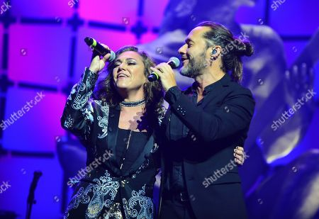 Stock Image of Claudia Brant and Diego Torres