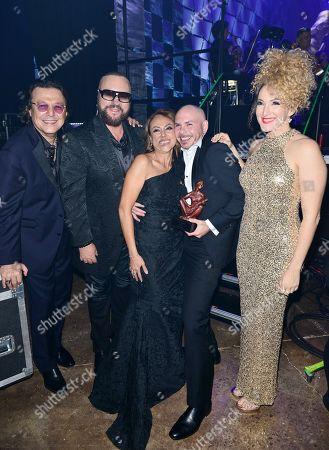 Rudy Perez, Desmond Child, Delia Orjuela, Pibull and Erika Ender