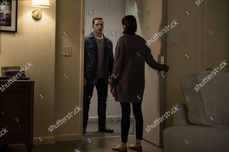 David Fumero as Mike Sandoval and Lela Loren as Angela Valdes