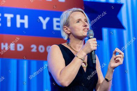 Stock Photo of Elizabeth Gilbert, author