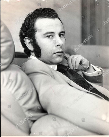 Baron (lord) Michael Levy Of Mill Hill Former Impresario Of The Magnet Record Label Pictured In 1974.he Managed Pop Star Alvin Stardust.