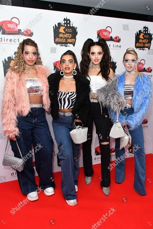 Editorial picture of KISS Haunted House Party, Arrivals, London, UK - 25 Oct 2019