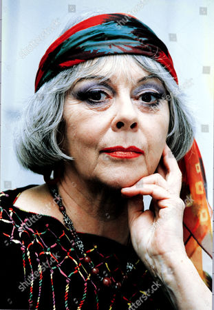 Actress Dame Dorothy Tutin In Her Make Up For The Role Of Luna In The Film Indian Summer.