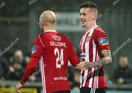 Editorial image of SSE Airtricity League Premier Division, Ryan McBride Brandywell Stadium, Derry  - 25 Oct 2019