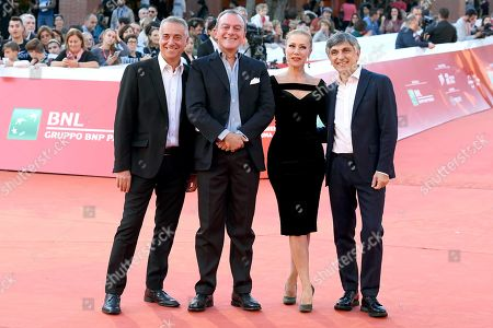 Massimo Ghini, Antonello Sarno, Nancy Brilli and Vincenzo Salemme