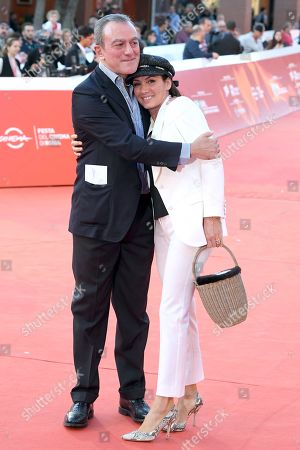Antonello Sarno with Manuela Morandi