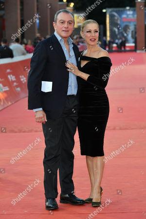 Antonello Sarno and Nancy Brilli