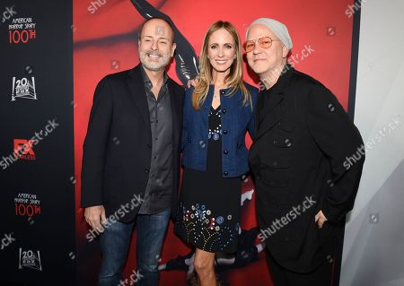 John Landgraf, Dana Walden and Ryan Murphy