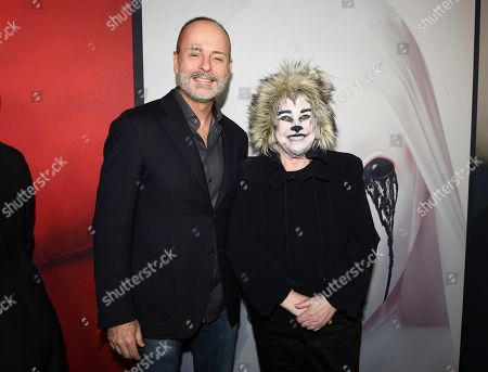 John Landgraf and Kathy Bates