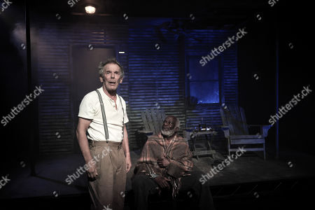Editorial image of 'Ages Of The Moon' play photocall, The Vaults Theatre, London, UK - 22 Oct 2019