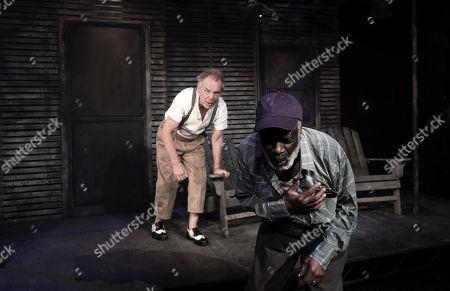 Stock Image of Christopher Fairbank and Joseph Marcell