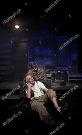Stock Picture of Joseph Marcell and Christopher Fairbank
