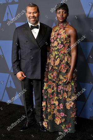 Jordan Peele and Lupita Nyong'o