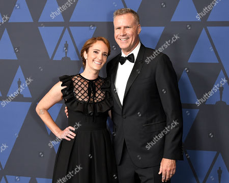Jessica Elbaum and Will Ferrell