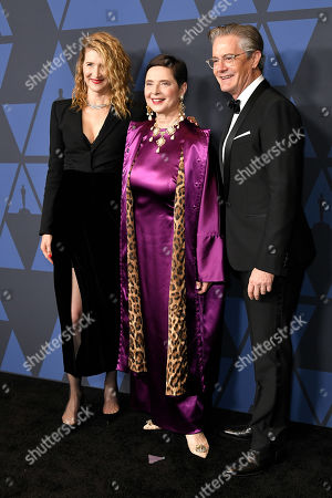 Laura Dern, Isabella Rossellini and Kyle Maclachlan