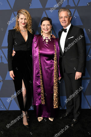 Stock Image of Laura Dern, Isabella Rossellini and Kyle Maclachlan