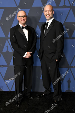 Stock Image of Christopher Markus and Stephen McFeely