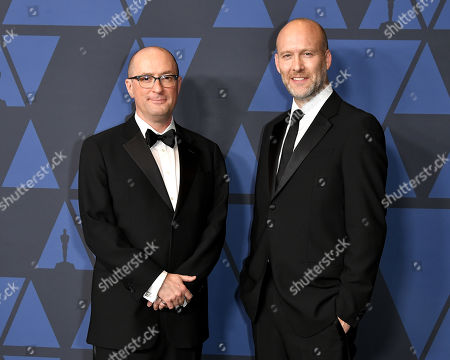 Stock Photo of Christopher Markus and Stephen McFeely