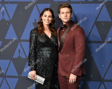 Jessica Leech and Allen Leech