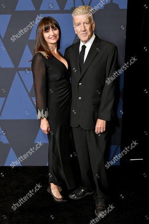 Emily Lynch and David Lynch