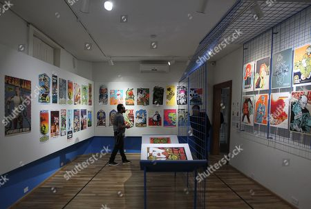 Editorial picture of From Metallica to Juan Gabriel, a tour of the posters of collecting, Mexico City - 25 Oct 2019