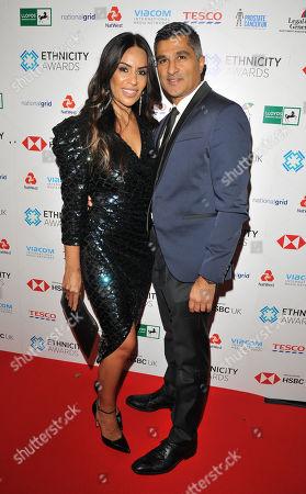 Seema Malhotra and her husband
