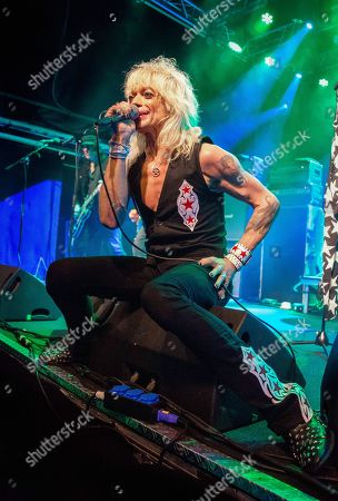 Editorial picture of Michael Monroe in concert, Stockholm, Sweden - 24 Oct 2019
