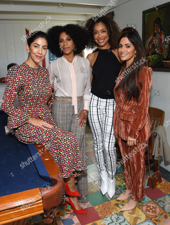 Stephanie Beatriz, Kelly McCreary, Gina Torres and Sarah Shahi