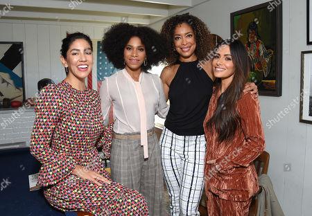 Stephanie Beatriz, Kelly McCreary, Gina Torres and Sarah Shahi