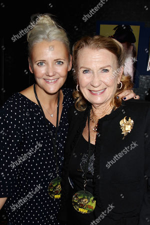 Melissa Caulfield and Juliet Mills