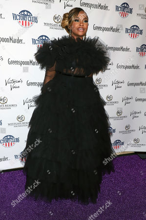 Editorial picture of 'Victoria's Voice - An Evening To Save Lives' Gala, Arrivals, Westgate Hotel & Casino, Las Vegas, USA - 25 Oct 2019