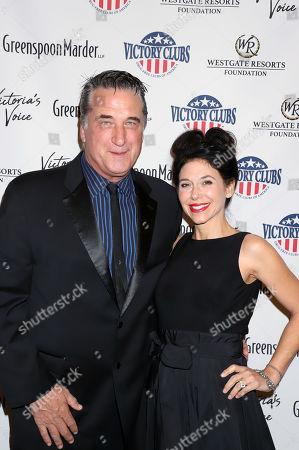Stock Image of Daniel Baldwin and Robin Sue Hertz