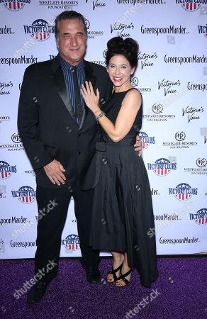 Stock Picture of Daniel Baldwin and Robin Sue Hertz