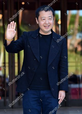 Jia Zhangke poses for the media upon her arrival for an event within the 14th annual Rome Film Festival, in Rome, Italy, 26 October 2019. The film festival runs from 17 to 27 October.