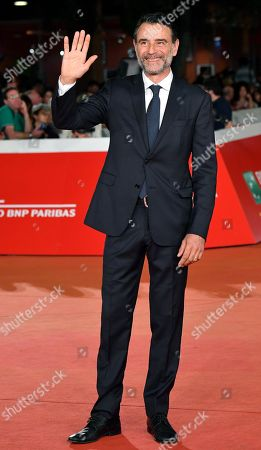 Vincenzo Amato arrives for the screening of 'Tornare' at the 14th annual Rome Film Festival, in Rome, Italy, 26 October 2019. The film festival runs from 17 to 27 October.