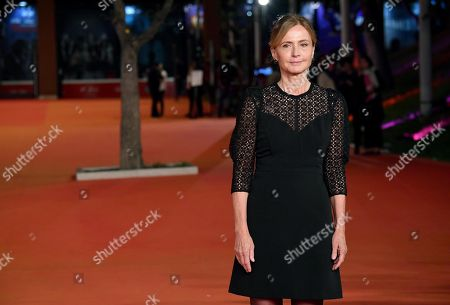 Cristina Comencini arrives for the screening of 'Tornare' at the 14th annual Rome Film Festival, in Rome, Italy, 26 October 2019. The film festival runs from 17 to 27 October.