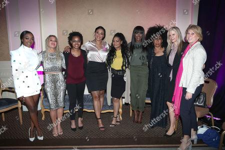 Jerhonda Pace, Asante S McGee, Lizzette Martinez, Lisa Van Allen, Kitti Jones, Faith Rodgers, Lili Bernard, Mira Sorvino