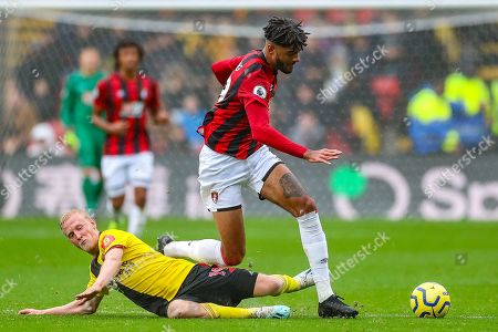 Editorial photo of Watford v Bournemouth, Premier League - 26 Oct 2019