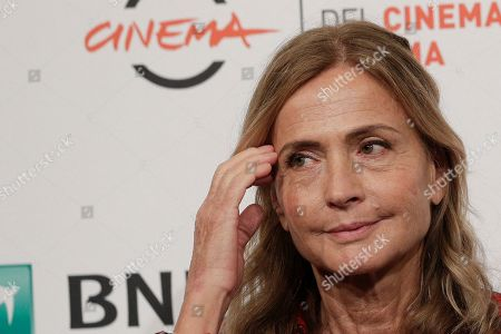 """Director Cristina Comencini poses during a Photo Call for the movie """"Tornare"""", at the Rome Film Fest, in Rome"""