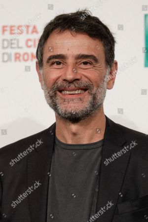 """Vincenzo Amato poses during a Photo Call for the movie """"Tornare"""", at the Rome Film Fest, in Rome"""