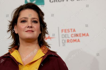 """Actress Giovanna Mezzogiorno poses during a Photo Call for the movie """"Tornare"""", at the Rome Film Fest, in Rome"""