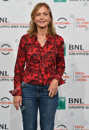 Cristina Comencini poses during the photocall for the movie 'Tornare' at the 14th annual Rome Film Festival, in Rome, Italy, 26 October 2019. The film festival runs from 17 to 27 October.