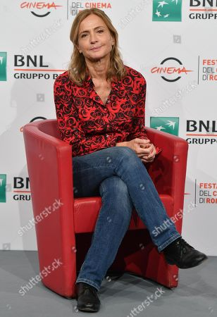 Stock Image of Cristina Comencini poses during the photocall for the movie 'Tornare' at the 14th annual Rome Film Festival, in Rome, Italy, 26 October 2019. The film festival runs from 17 to 27 October.