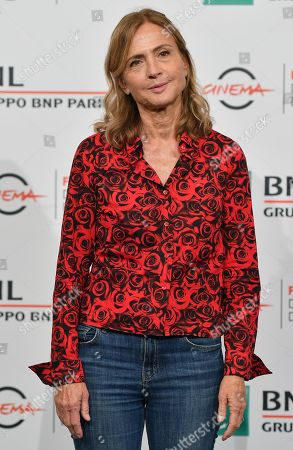 Stock Picture of Cristina Comencini poses during the photocall for the movie 'Tornare' at the 14th annual Rome Film Festival, in Rome, Italy, 26 October 2019. The film festival runs from 17 to 27 October.