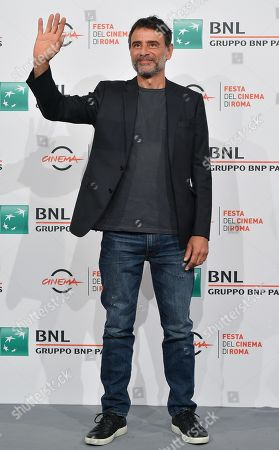 Vincenzo Amato poses during the photocall for the movie 'Tornare' at the 14th annual Rome Film Festival, in Rome, Italy, 26 October 2019. The film festival runs from 17 to 27 October.