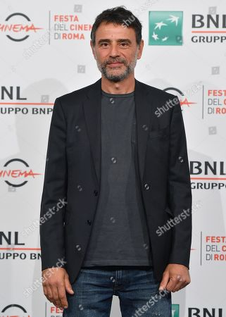 Stock Image of Vincenzo Amato poses during the photocall for the movie 'Tornare' at the 14th annual Rome Film Festival, in Rome, Italy, 26 October 2019. The film festival runs from 17 to 27 October.