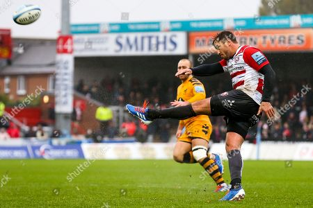 Danny Cipriani of Gloucester Rugby