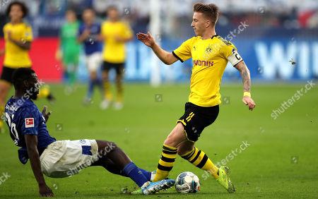 Editorial picture of FC Schalke 04 vs Borussia Dortmund, Gelsenkirchen, Germany - 26 Oct 2019