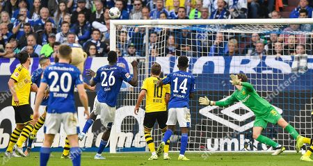 Editorial photo of Soccer Bundesliga, Gelsenkirchen, Germany - 26 Oct 2019