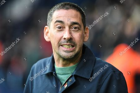 Quest TV presenter Colin Murray during the EFL Sky Bet Championship match between West Bromwich Albion and Charlton Athletic at The Hawthorns, West Bromwich